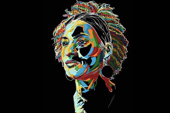 Le idee non muoiono.#MarielleFranco donna, nera, lesbica, femminista, attivista politica dei diritti umani. 1979 - 2018#QuemMatouMarielle #amnestyinternational  - Ukustom