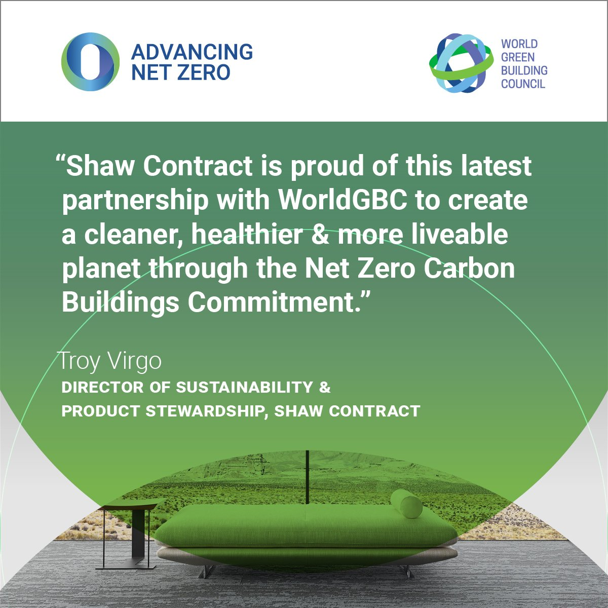 The Founding Signatories Of WorldGBCs Net Zero Carbon Buildings Commitment Demonstrating Outstanding Industry Leadership To Eliminate Operational
