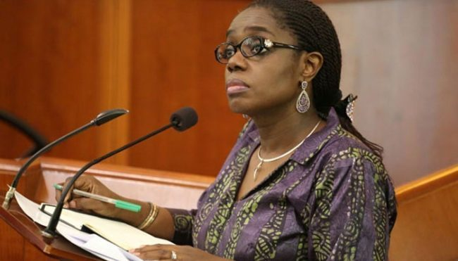 BREAKING: Finance Minister, Kemi Adeosun resigns! #FranklySpeaking #ontheshowtoday @kamri_apollo Photo