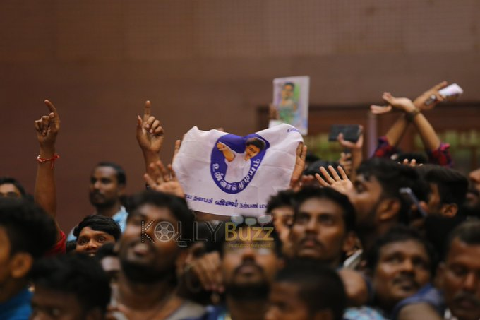 Pic From The Hall 😍😍😍😍 #PondyWelcomesTHALAPATHY Photo