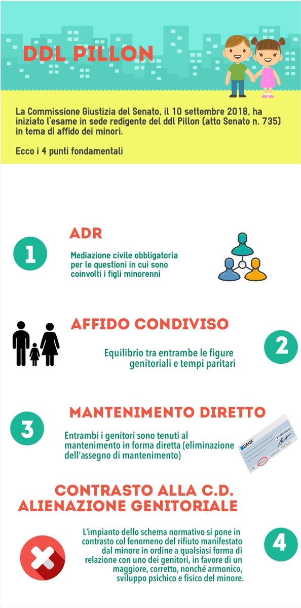Affido minori: il decreto Pillon approda in Parlamento. Bocciata la Giustizia riparativahttp://bit.ly/2Nb2Nb3 #lex #affidominori #Pillon  - Ukustom