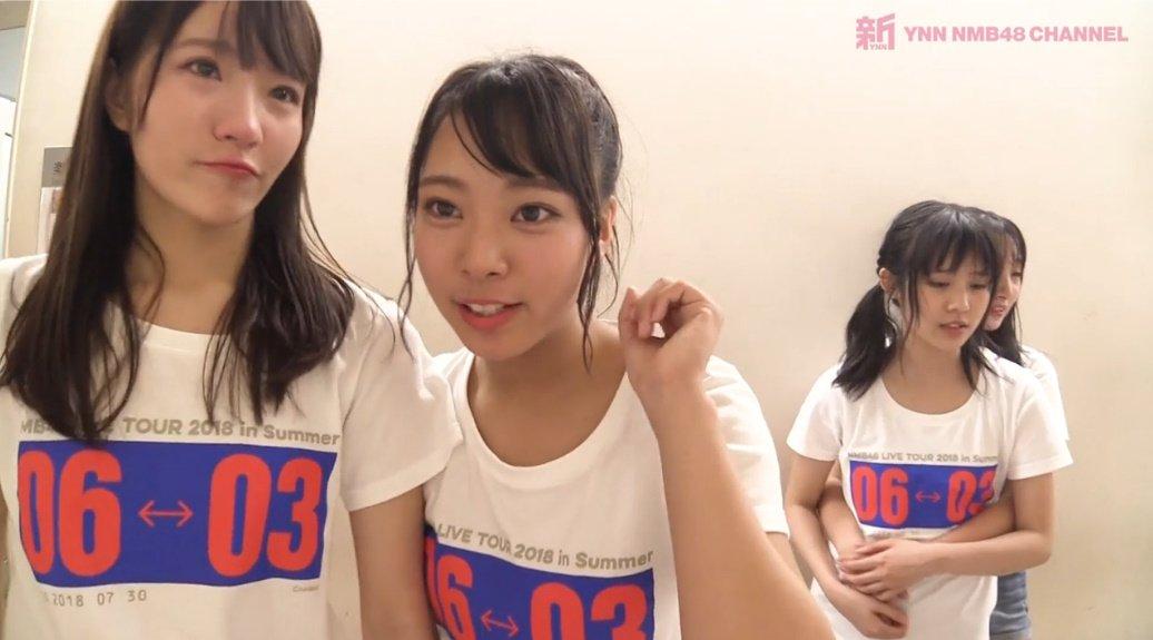こじりんよしよし #NMB48 #YNN  #LIVETOUR2018 #舞台裏 https://t.co/OAarK2J2DB