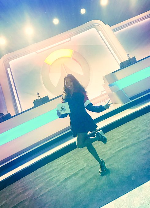 Day 1 of #OWWC2018 was a blast! See you all again tomorrow! 💖✨ Photo