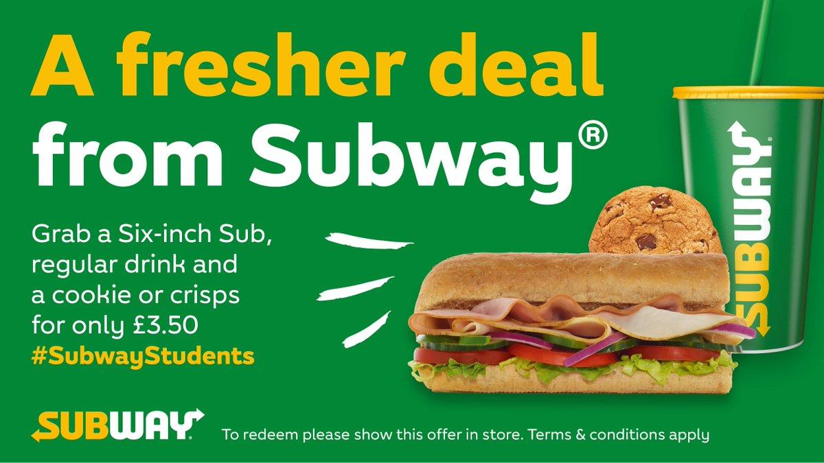 Subway 3.50 six inch
