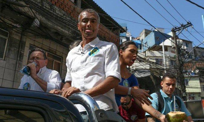 Romário nomeia advogado particular como assessor no gabinete dele no Senado. Photo