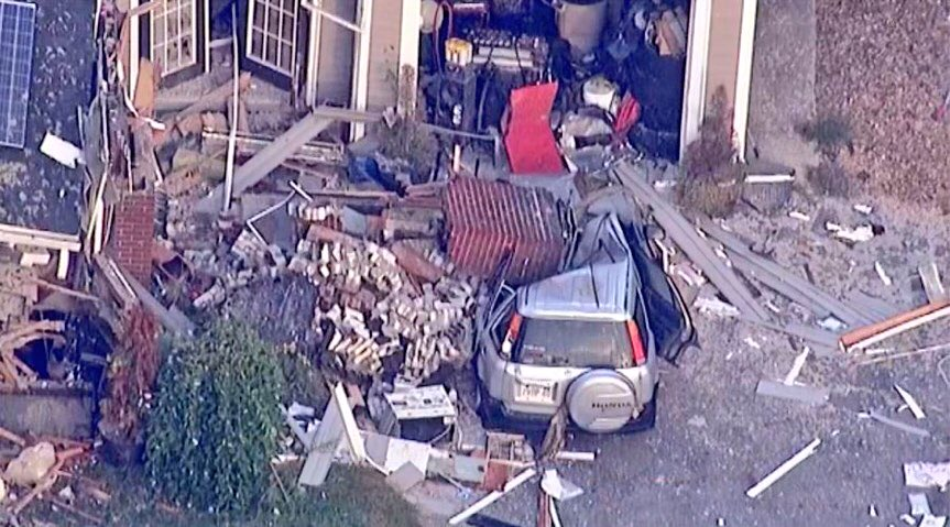 Just devastating.  An 18-year-old was killed when a chimney fell on top of his car after this home exploded. At least 25 others were injured from gas explosions &amp; nearly 80 fires last night across 3 towns! Thousands are still without power &amp; can't go home #MVGasFire #MAGasFire<br>http://pic.twitter.com/dBF3d2hMIt