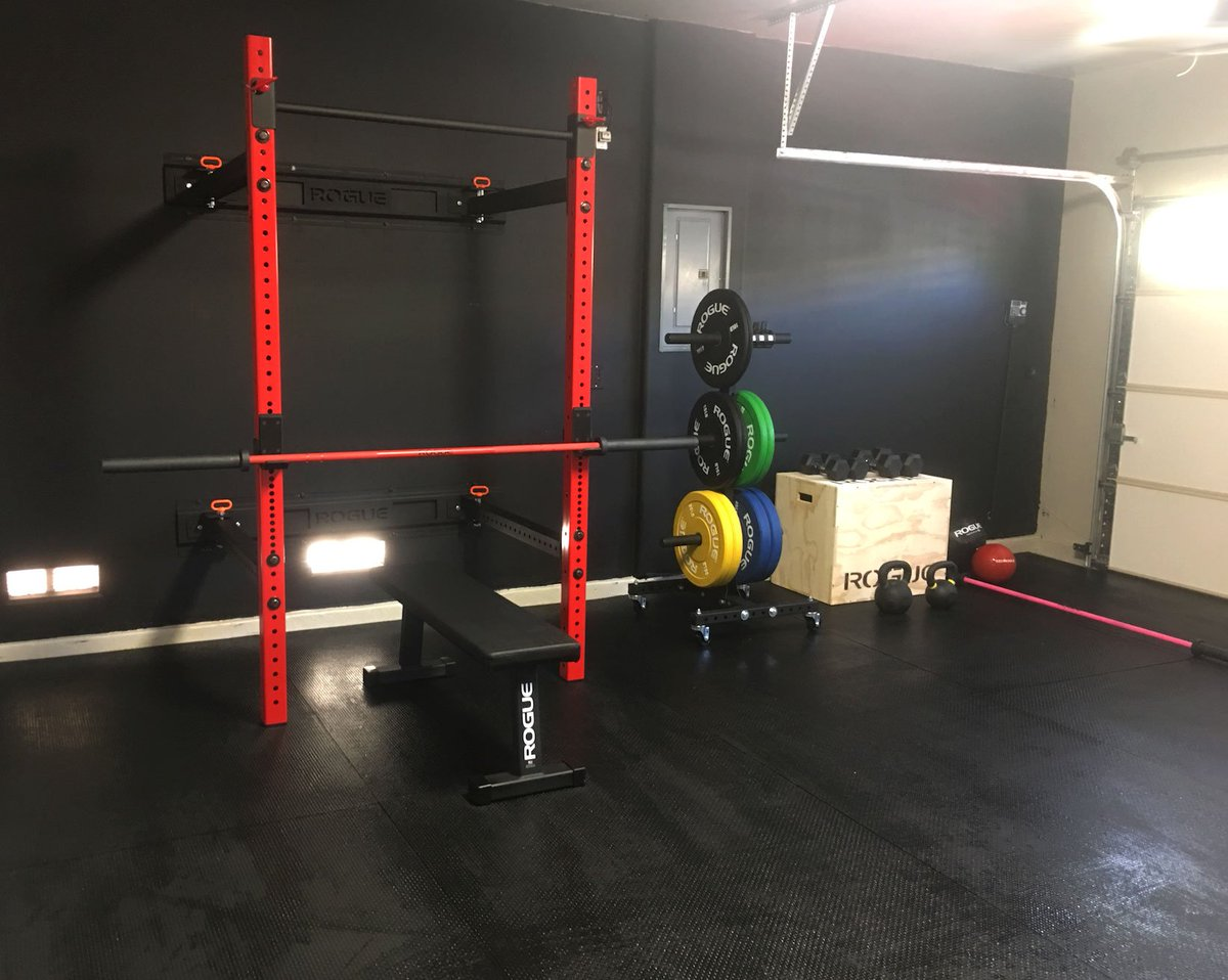 Rogue fitness garage gym [canariasdeportiva]