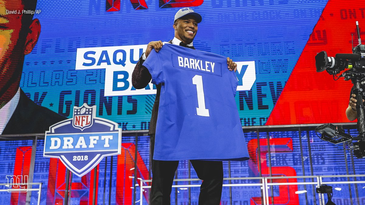 The last time a Giant was in Dallas.   #FBF #NFLDraft #GiantsPride