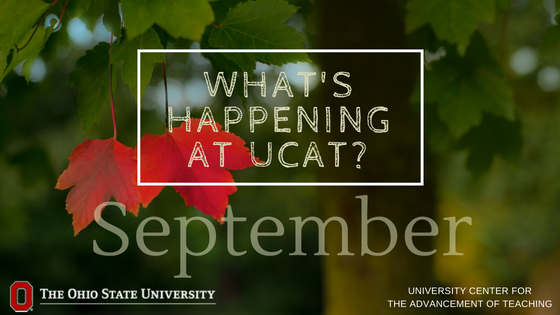 September is a busy month at UCAT! See the events we're offering and enter our monthly book giveaway: https://t.co/ubYVHoGt19