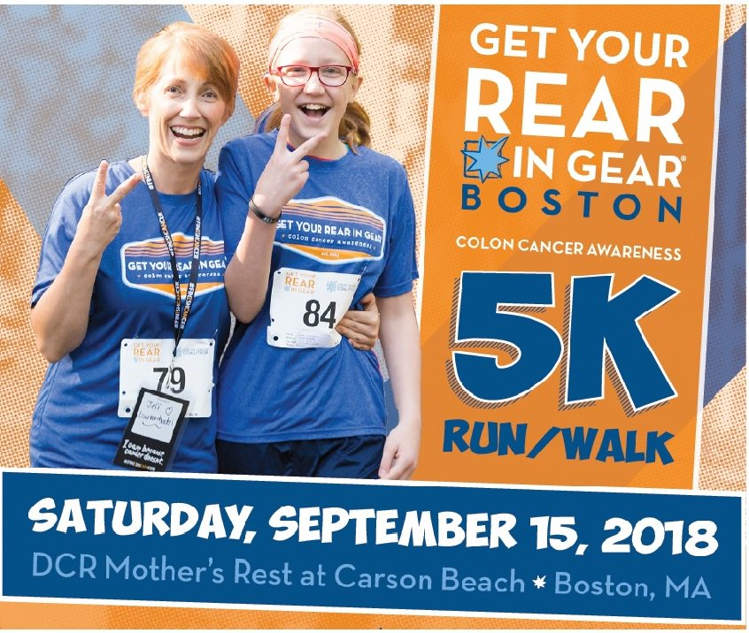 Mass Public Health On Twitter The Colon Cancer Coalition Wants To Increase Screening Rates For Colorectalcancer In Boston Join Their Annual Get Your Rear In Gear Boston 5k Run Walk This Saturday 9 15