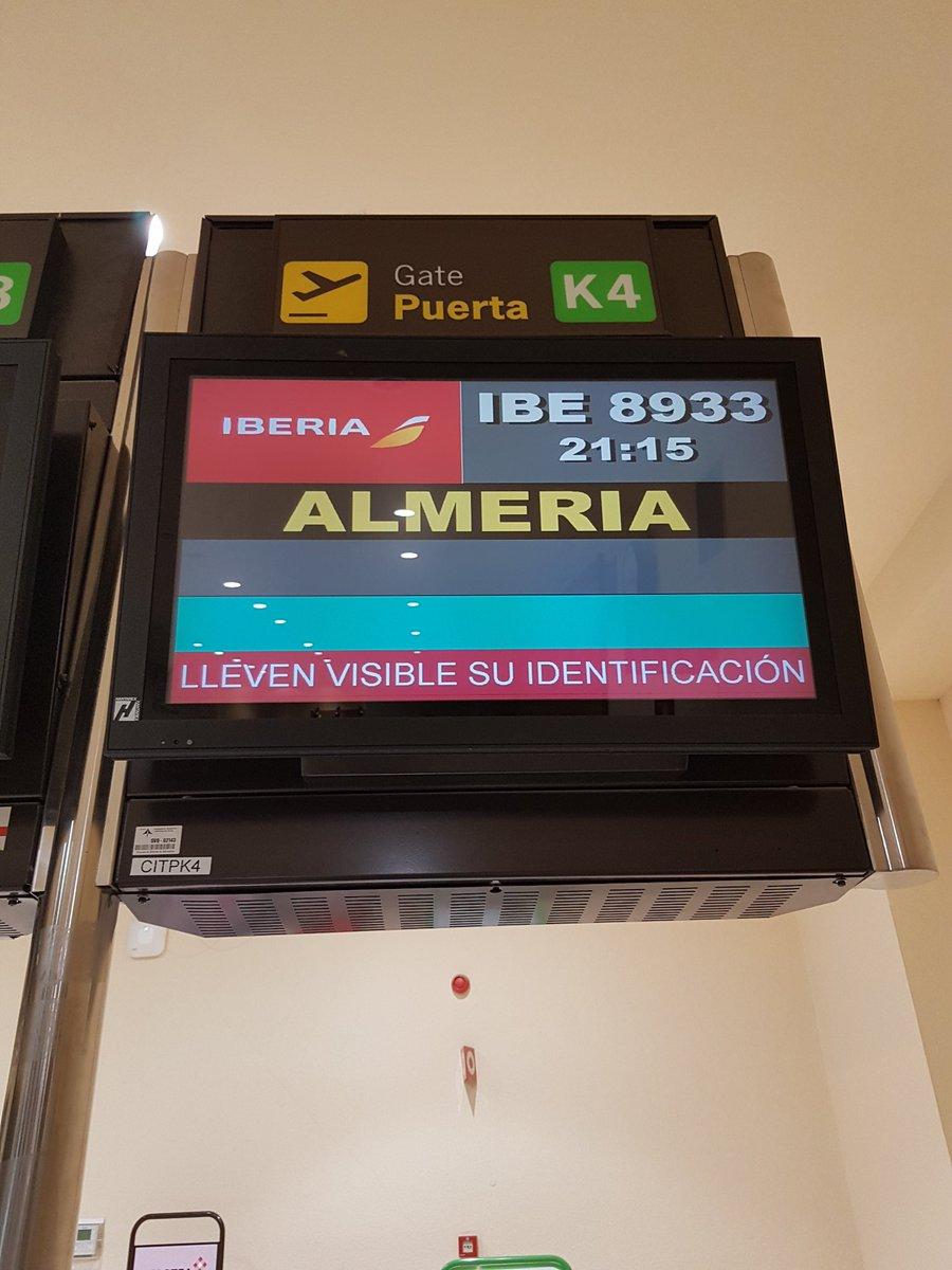 Per la prima volta inizia #AunahoraAlmería dall\