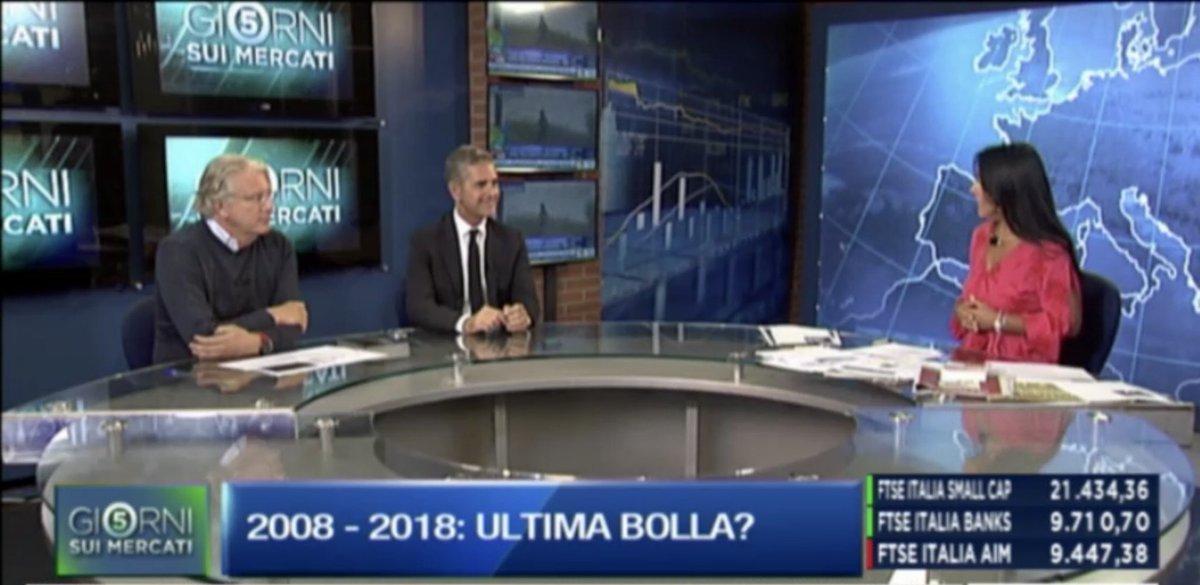 """Adesso @Roberto_Russo1 AD #AssitecaSIM ospite di @marina_valerio a """"5 Giorni sui Mercati"""" su @classcnbc ch.507 Sky http://video.milanofinanza.it  - Ukustom"""