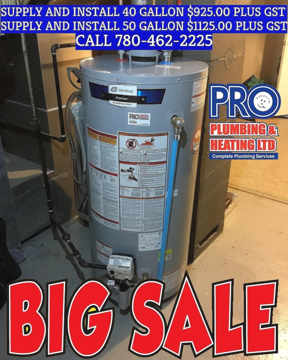 Pro Plumbing 780-462-2225 on Twitter: \