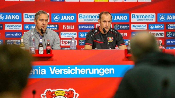 🗣 Heiko #Herrlich: @CharlesAranguiz jugó medio tiempo con con Chile, pero tuvo que salir debido a sus problemas de rodilla. Mañana no estará disponible. 🔜 #FCBB04 Foto