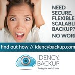 Image for the Tweet beginning: Need simple, secure, scalable backups