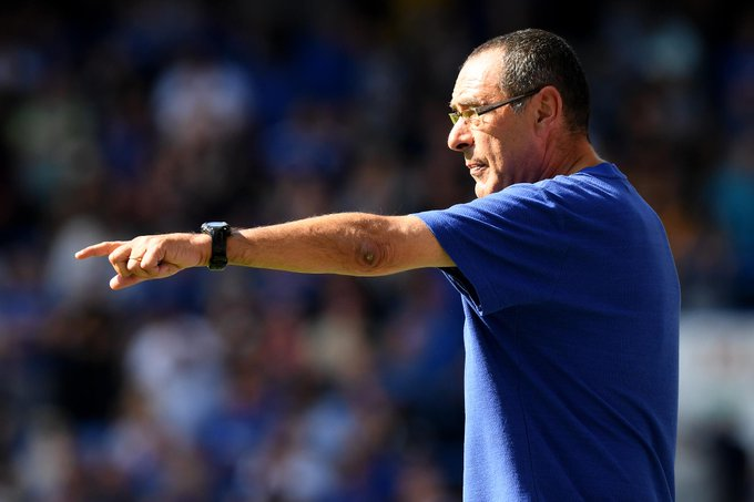 🇮🇹 Maurizio Sarri could become just the 4th manager to win his first 5 #PL Can you name the other 3? #CHECAR Photo