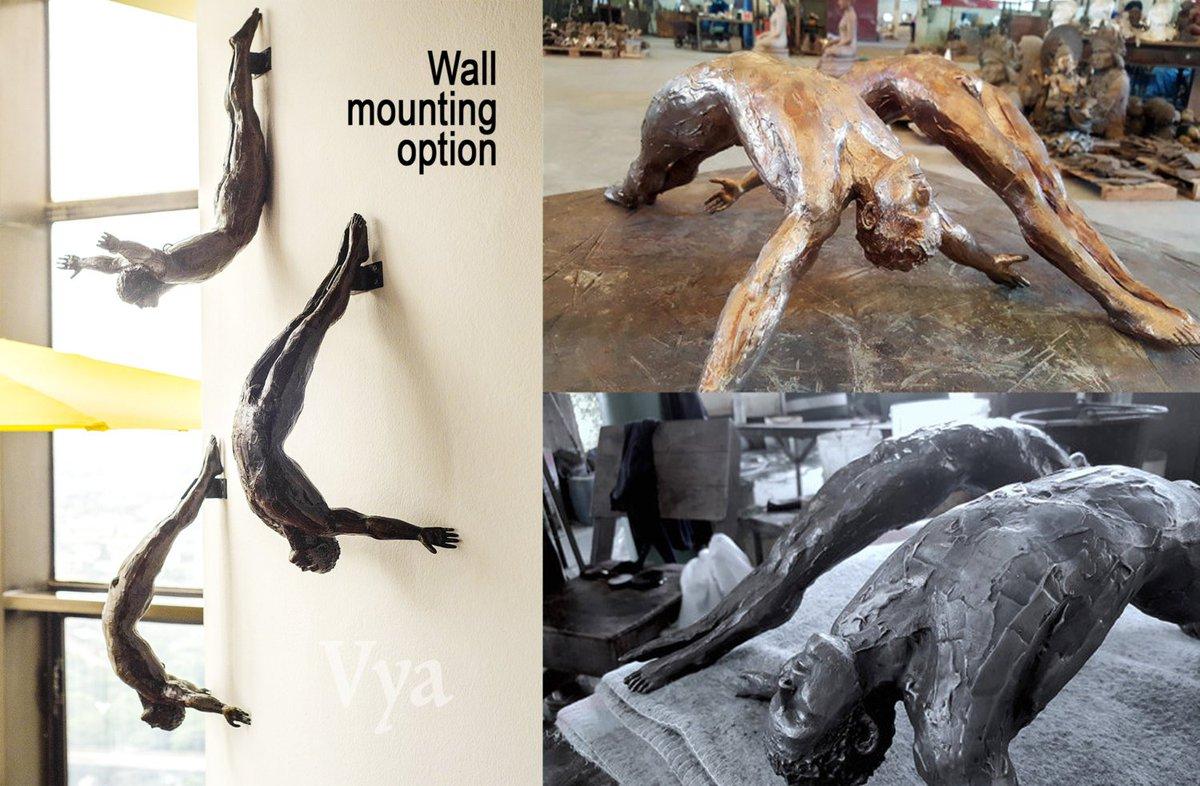 Vyaart On Twitter Modern Metal Wall Sculpture Large Wall Sculpture