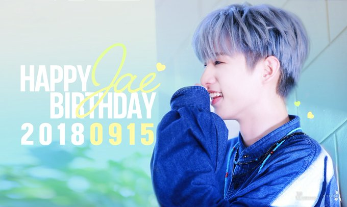 Last, happy birthday jae love you ❤️ @Jae_Day6 #Day6 #HappyJaeDay Photo