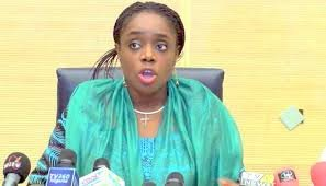 BREAKING NEWS: JUST THIS AFTERNOON, SOME SECTIONS OF THE SOCIAL MEDIA ANNOUNCED THE RESIGNATION OF THE MINISTER OF FINANCE, KEMI ADEOSUN. THIS HOWEVER HAS NOT BEEN CONFIRM AS THERE IS NO OFFICIAL STATEMENT FROM THE PRESIDENCY IN THIS REGARD. Photo