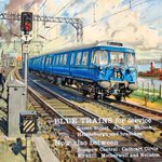 Image for the Tweet beginning: Today's transport poster: BLUE TRAINS FOR