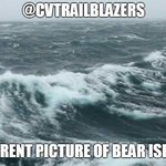 Image for the Tweet beginning: Current picture of Bear Island