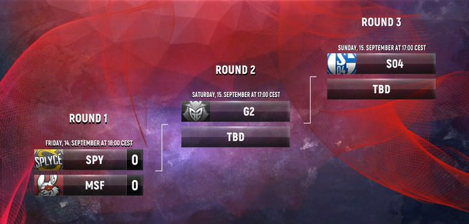 Here is the 2018 #EULCS Regional Qualifier bracket! Do you think that one of the first round teams can make the miracle run happen? #RoadToWorlds Foto