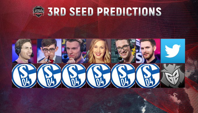 Both the on-air team and the Twitter Analysts doubt it! #RoadToWorlds #EULCS Foto