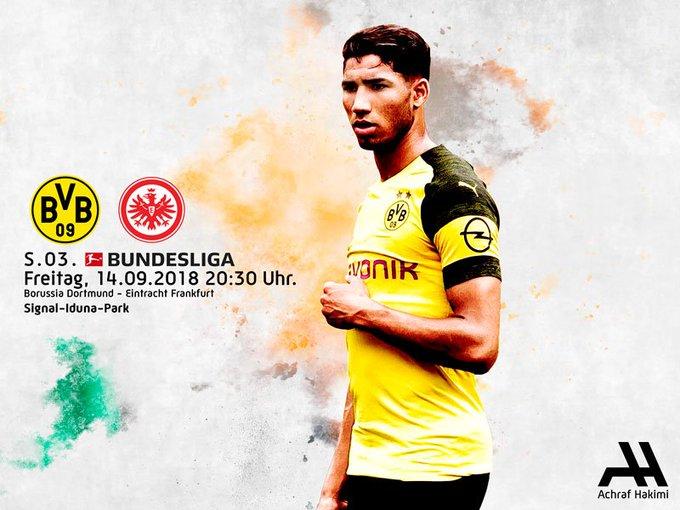 🏆 Bundesliga 🆚 Eintracht Frankfurt 🏟 Signal Iduna Park 📆 Friday, September 14 ⏰ 20:30 🐝 #BVBSGE Foto