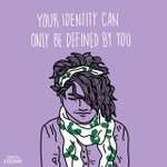 Image for the Tweet beginning: Your identity is yours and