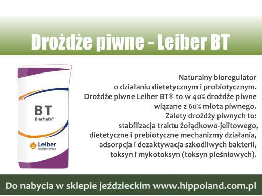 Drożdże piwne Leiber BT to naturalny bioregulator o działaniu dietetycznym i probiotycznym.  To w 40% drożdże piwne wiązane z 60% młota piwnego.  Więcej: https://t.co/z7IwxjGxrj #Koń,#DietaKonia,#ŻywienieKoni,#HodowlaKoni,#LeiberBT,#Hippoland,#Łódź,#SklepJeździecki,#DrożdżePiwne, https://t.co/PZ55xr4jmb