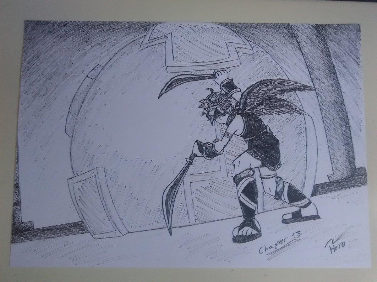 Hero Wolf On Twitter Chaper 13 Kid Icarus Uprising Dark Pit
