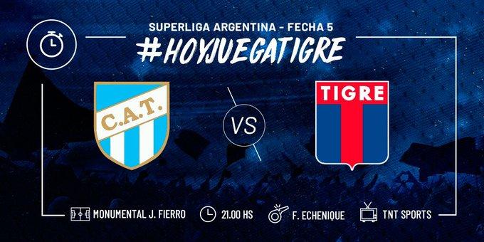 ¡Esta noche, desde las 21:00 hs, visitamos a Atlético en Tucumán! #VamosMatador 🐯🔵🔴🔵 Foto