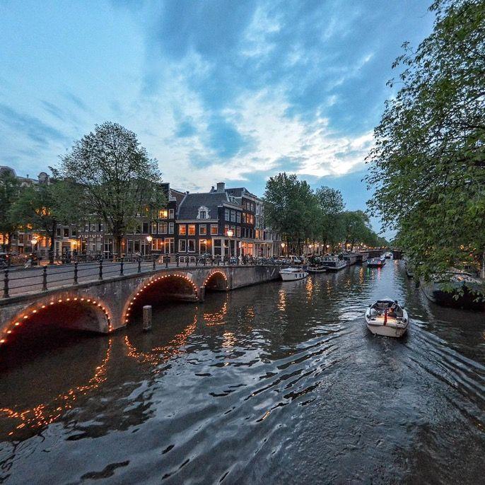 ثقف نفسك S Tweet أمستردام عاصمة هولندا وأكثر مدنها سكانا لها
