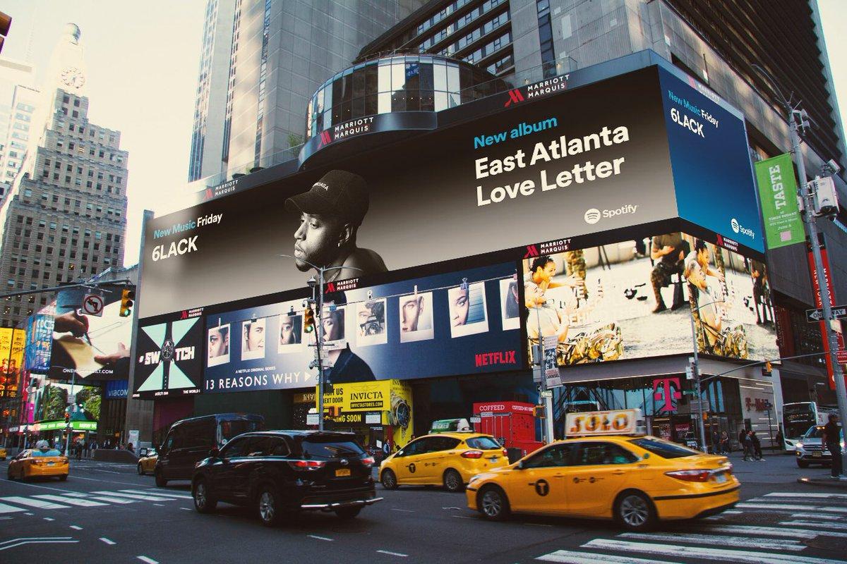 thank you @spotify 🙏🏾💌#eastatlantaloveletter out now!