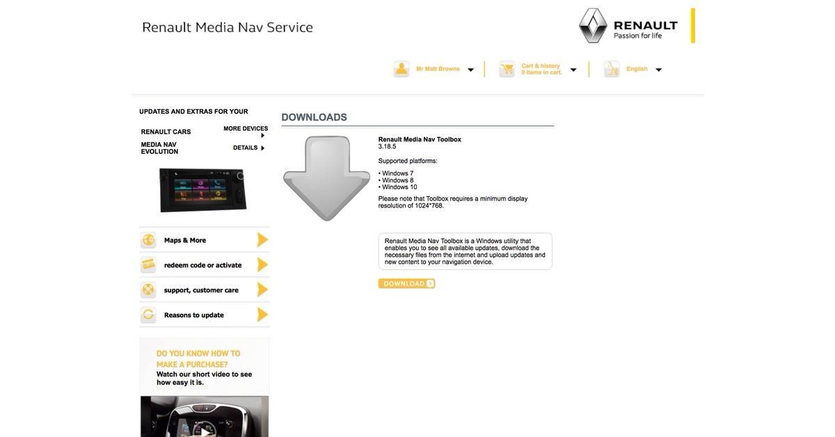 Media Nav Evolution Update