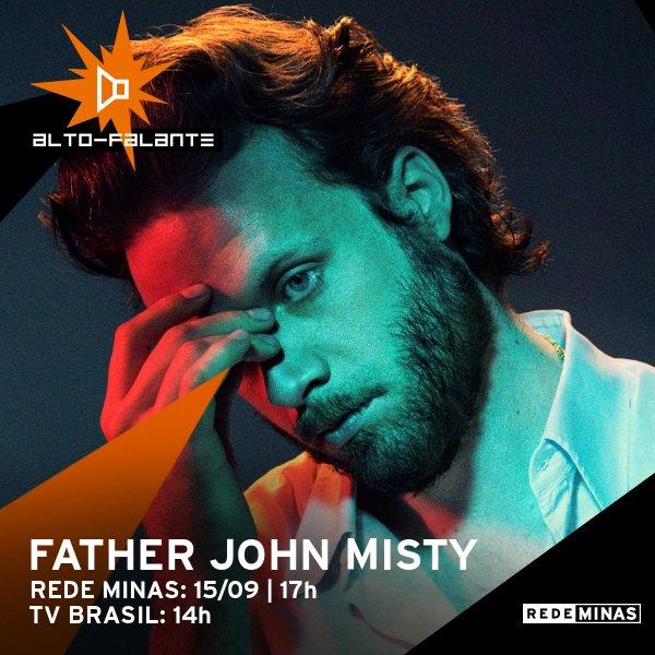 No #AltoFalante deste sábado (15), um dos melhores discos de 2018 ganha uma geral: 'God's Favorite Costumer', do cantor e compositor norte-americano Father John Misty. Não percam às 14h https://t.co/CNyxgfj5KK