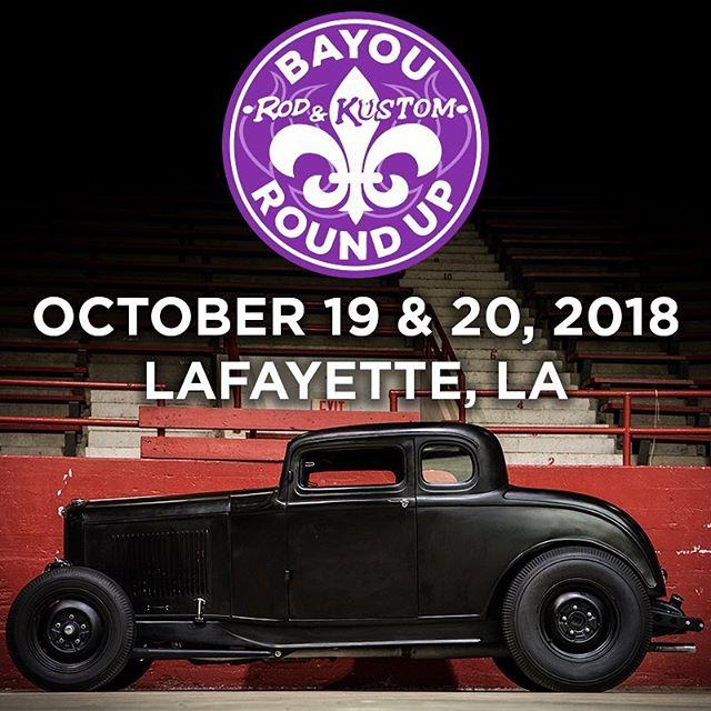 Bayou Round Up BayouRoundUp Twitter - Antique car show lafayette la