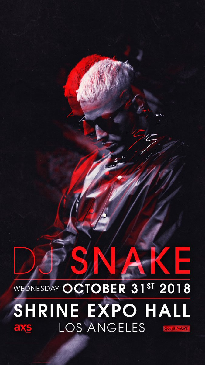 DJ SNAKE 🇫🇷's photo on ON SALE NOW