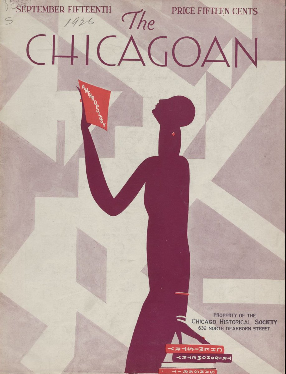Fridays cover of the Chicagoan is a day shy of the 92nd anniversary of its publication date. Copyright The Quigley Publishing Company, a Division of QP Media, Inc. #artdesignchicago #designfriday #thechicagoan #vintage #artdecochicago