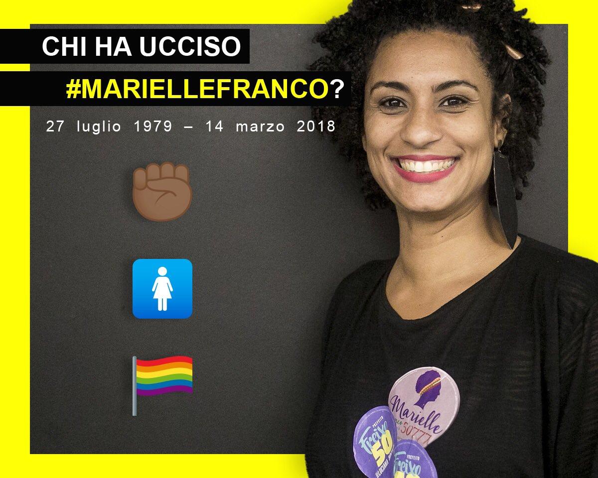 Oggi, 6 mesi dopo, ancora a chiederci chi ha ucciso #MarielleFranco !Chiediamo un'indagine, ORA. @SegurancaRJ @MP_RJ @PCERJ @intervfederalRJ QUI la PETIZIONE  https:// www.amnesty.it/appelli/giustizia-per-marielle/  - Ukustom