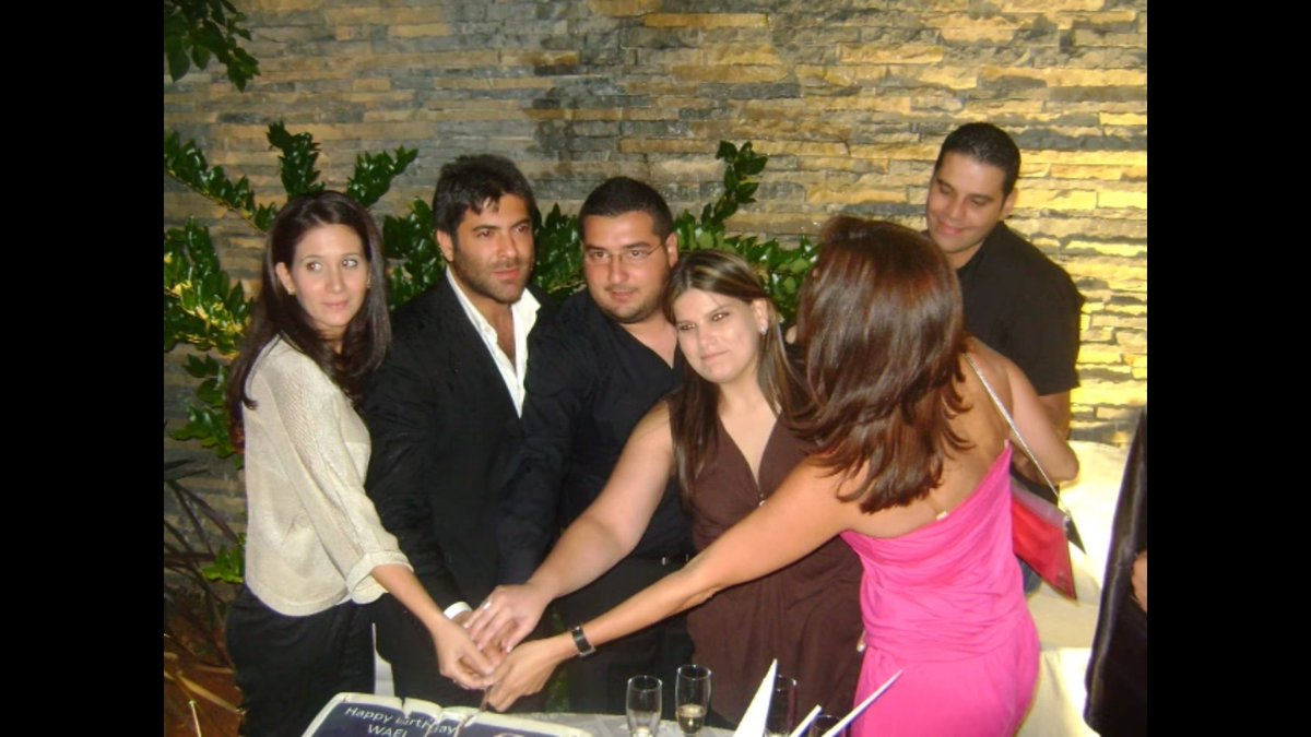 Me Zeina Gedeon On Twitter Thanks For Those Days Happy Birthday My Everything My Wael Waelkfoury