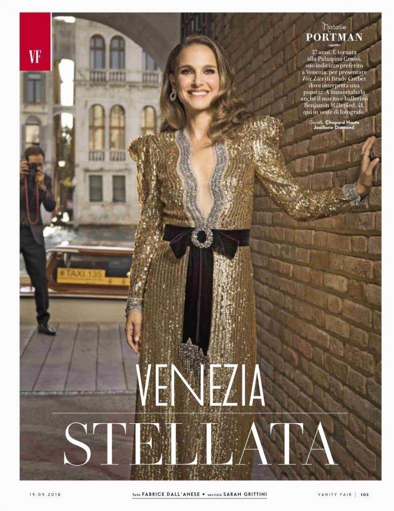 Natalie Portman for Vanity Fair Italy (2018)