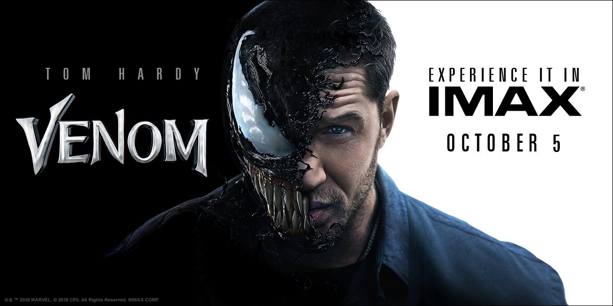 Get ready for the #Venom to take you over. Secure your seat now: https://t.co/locu7QKNUA