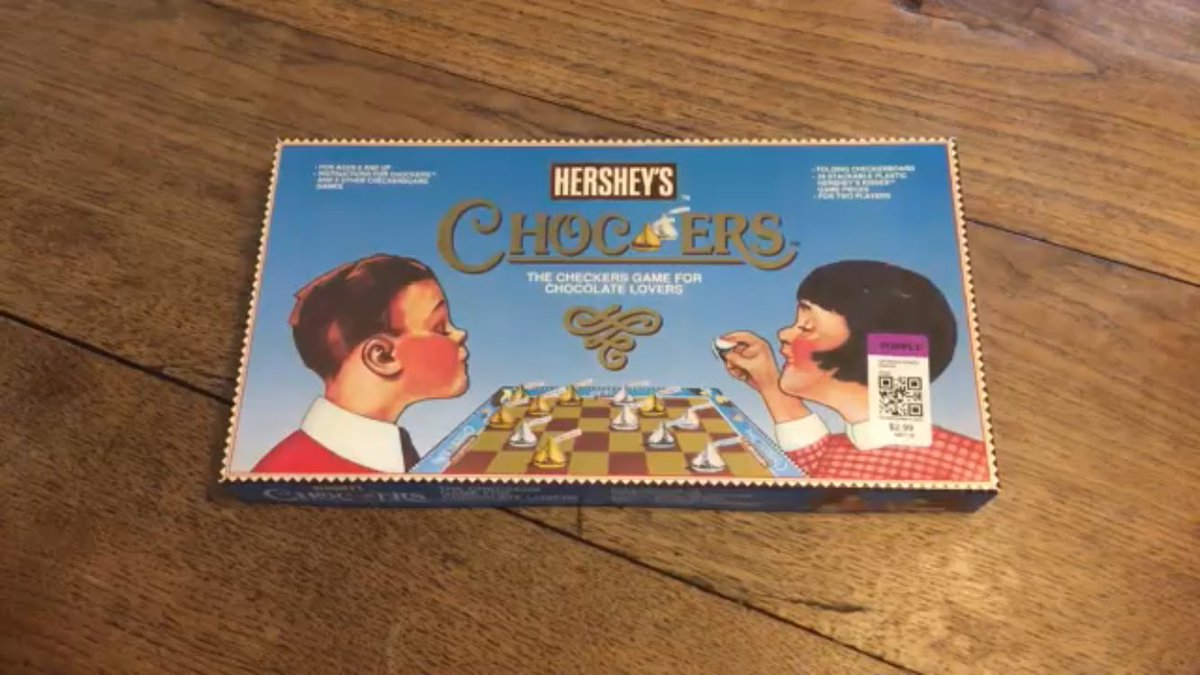 Chocolate checkers = https://t.co/6l5f2Ebaq5 #toys #games #boardgames #chocolate https://t.co/GrPlmKTCzU