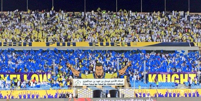 بصراحة جمهور #النصر مافيه حيلة.. تعودنا منهم الأولويات.. #النصر_الفيصلي Photo