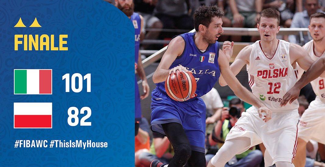 Vittoria! Successo Azzurro di fondamentale importanza sulla via per la Cina!#Italbasket #ThisIsMyHouse #FIBAWC  - Ukustom