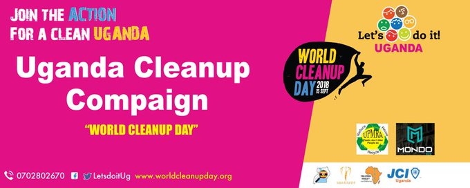 Just a few hours for us to join the rest if the world #WorldCleanUpDay Photo