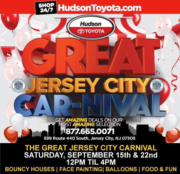 Tomorrowu0027s The Great Jersey City Car Nival! We Guarantee That Our Rides  Wonu0027t Make You Dizzy, So Come Take A Test Drive And Ask About Our  Incredible ...
