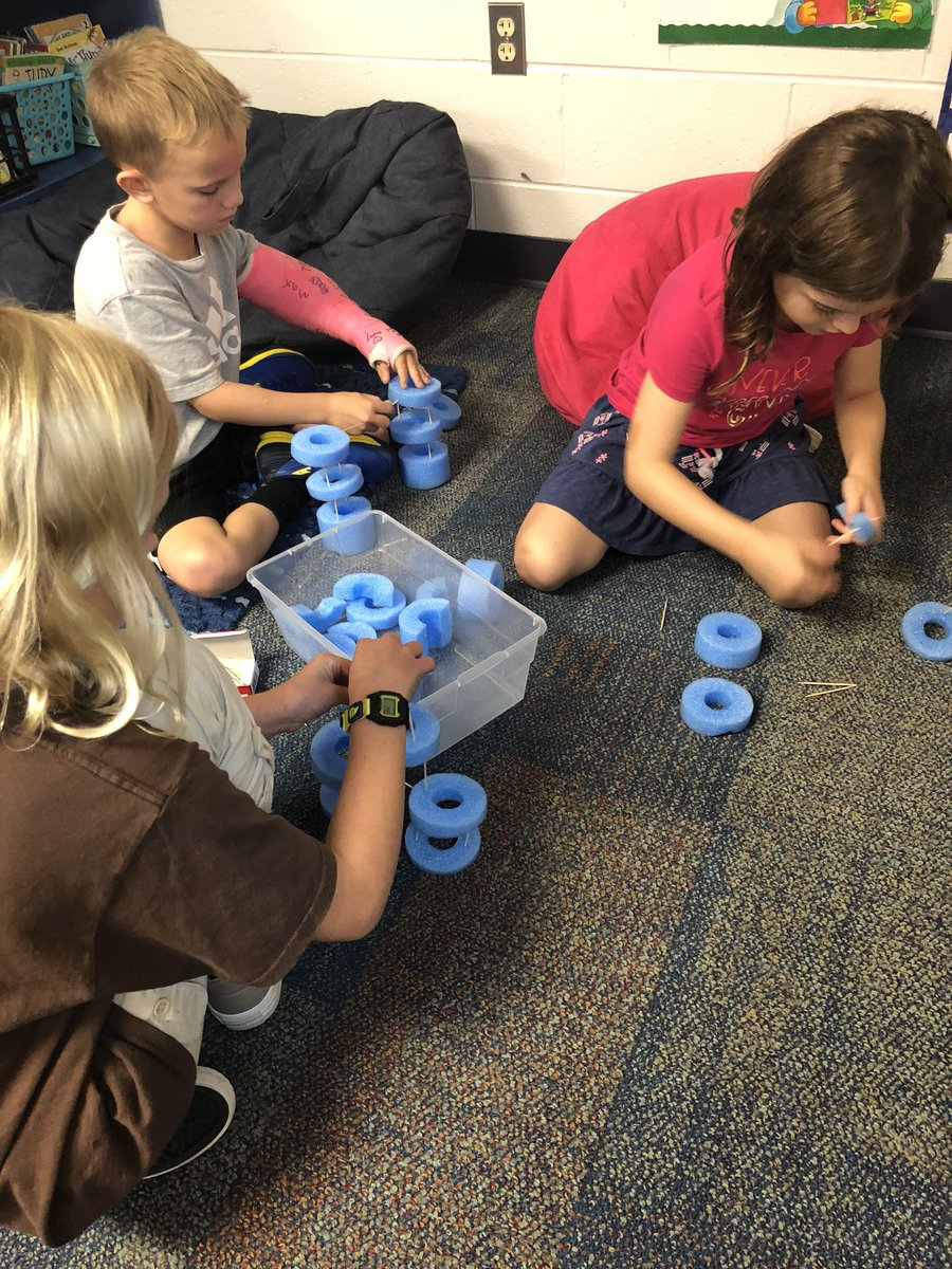 Lauren Gutting On Twitter The Kids Were So Excited To Be Able To Create Today Using Our Stem Bins Today S Goal Build A House Using Various Materials Happyhillendale Outstandingowls Firstgrade Https T Co Ftt5s02u0r