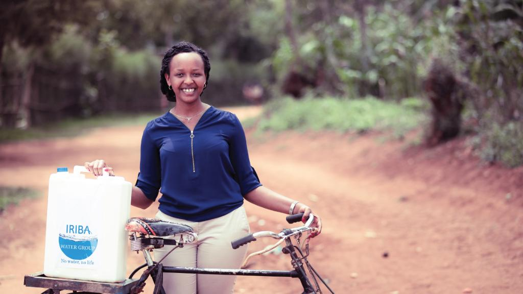 22-year-old Rwandan Yvette Ishimwe is tackling her country's water problem — and catching the attention of the Queen of England: https://t.co/rMhEuJo9pP